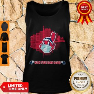 Good Wash Your Damn Hands Cleveland Indians Tank Top