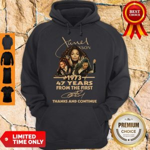 Cute Nice Janet Jackson 47 Years Of 1973-2020 Signatures Thank You For The Memories Hoodie