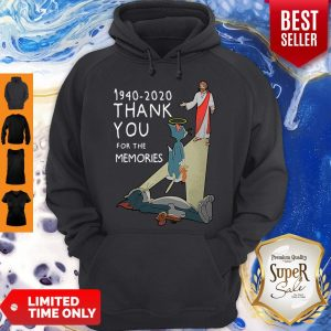 Top Tom And Jerry 1940 2020 Thank You For The Memories Hoodie