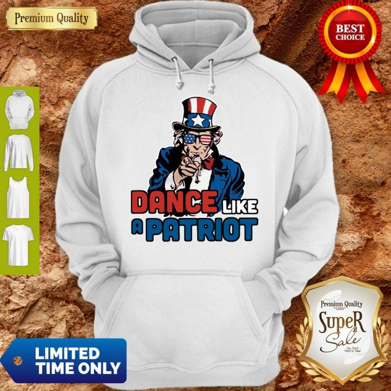 Official Dance Like A Patriot Hoodie
