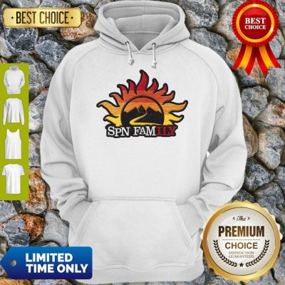 Official Supernatural SPN Family Hoodie