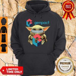 Pro Baby Yoda Mask Hug Genpact Hoodie