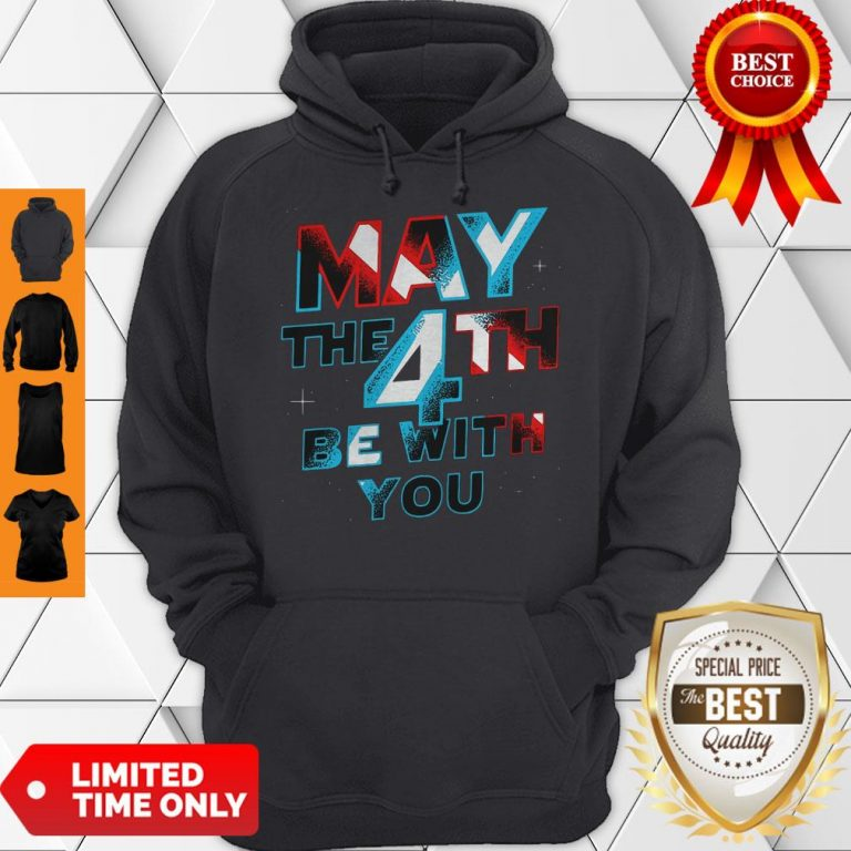 Official Star Wars May The 4th Be With You Hoodie