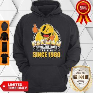 Cute Pacman Social Distance Training Since 1980 Classic Hoodie