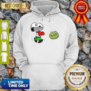 Nice Snoopy Boxing Virus Corona Hoodie