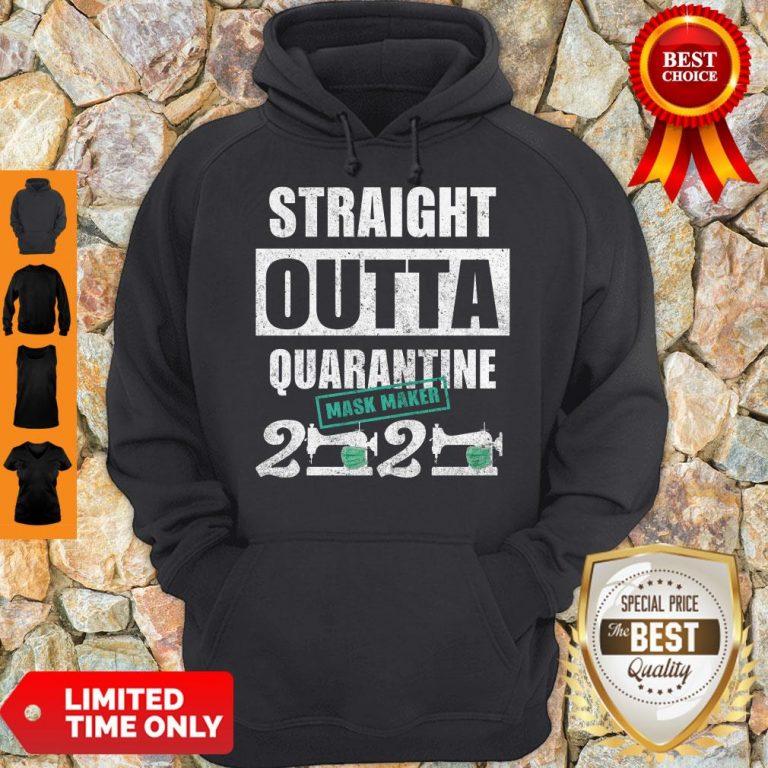 Hot Straight Outta Quarantine Mask Maker 2020 Hoodie
