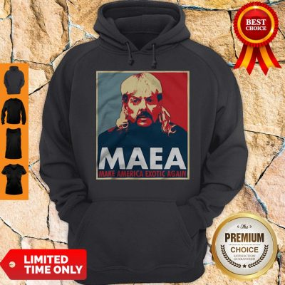 Joe Exotic MAEA Make America Exotic Again Hoodie