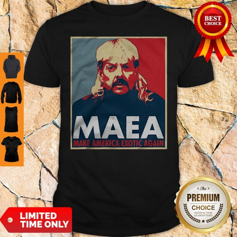 Joe Exotic MAEA Make America Exotic Again Shirt