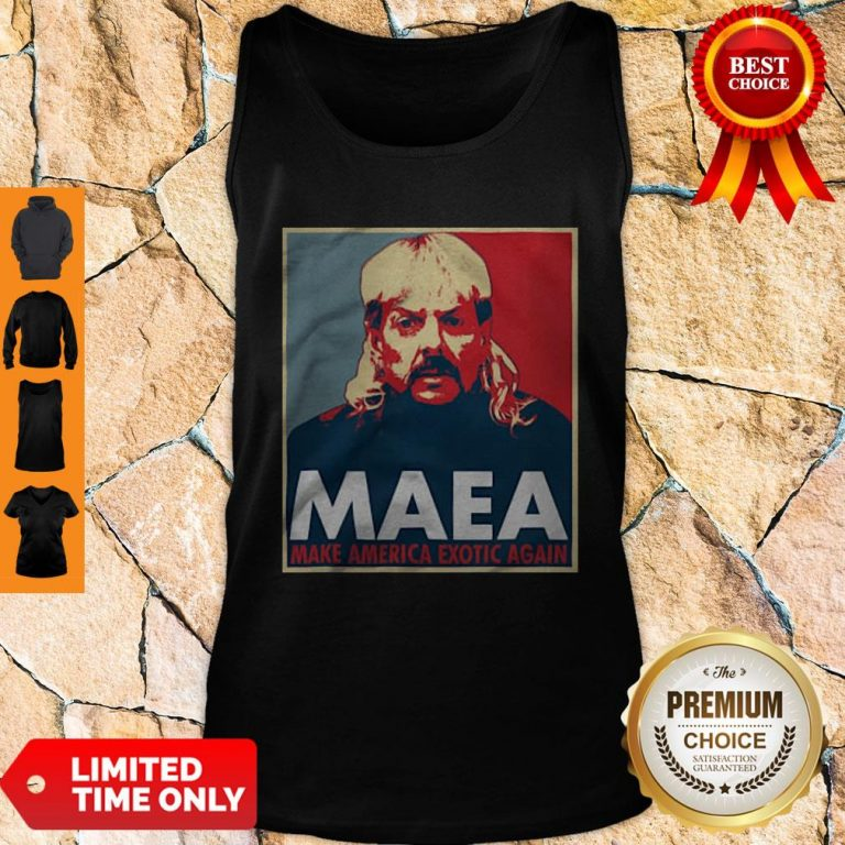 Joe Exotic MAEA Make America Exotic Again Tank Top