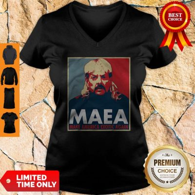 Joe Exotic MAEA Make America Exotic Again V-neck