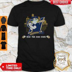Milwaukee Brewers Wash Your Damn Hands Coronavirus Shirt