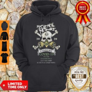 My Chemical Romance 2020 Pandemic Covid 19 In Case Of Emergency Cut This Hoodie