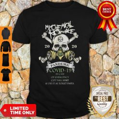 My Chemical Romance 2020 Pandemic Covid 19 In Case Of Emergency Cut This Shirt
