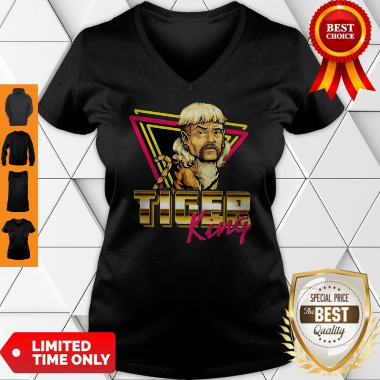 Official Joe Exotic Tiger King V-neck