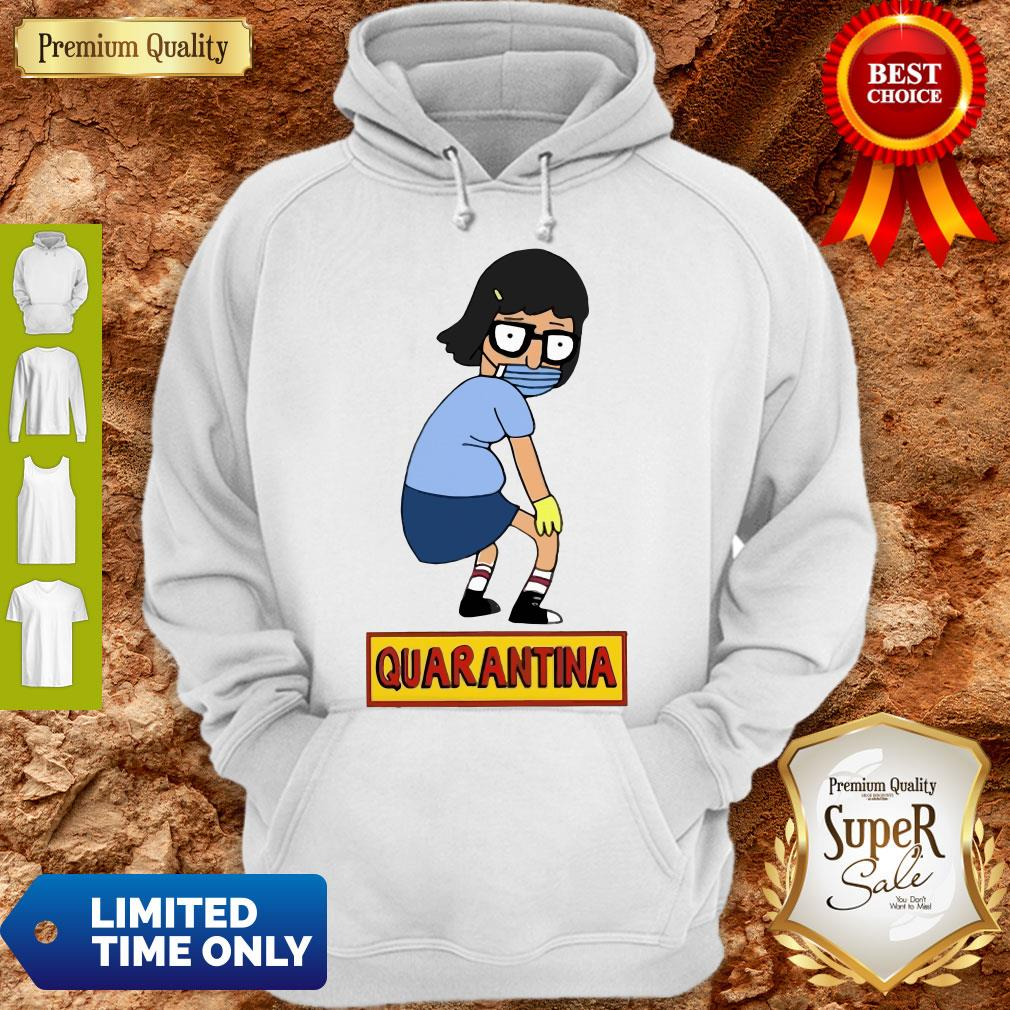 Official Stay Home Stay Safe Quarantina Hoodie