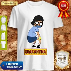 Official Stay Home Stay Safe Quarantina Shirt