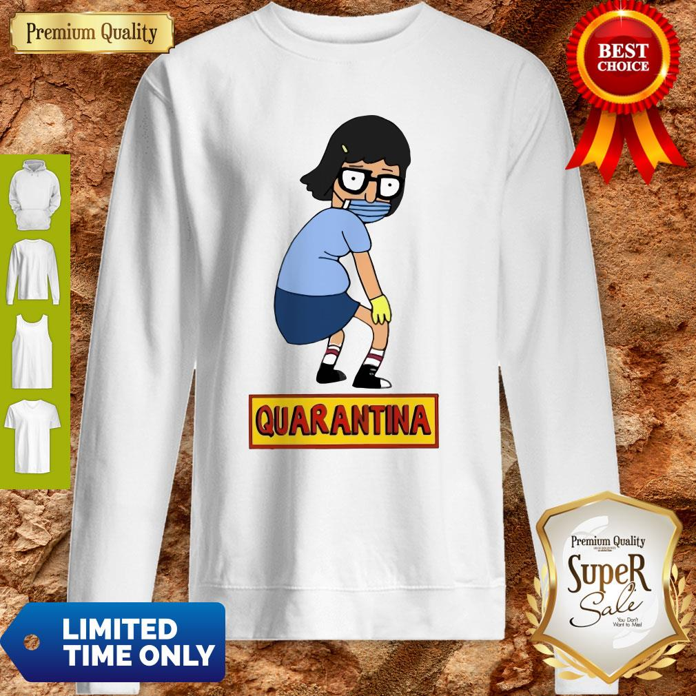 Official Stay Home Stay Safe Quarantina Sweatshirt