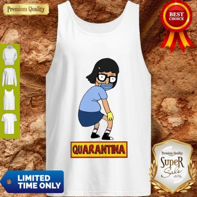 Official Stay Home Stay Safe Quarantina Tank Top