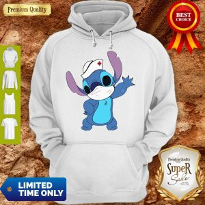 Official Stitch Mask Nurse Hoodie