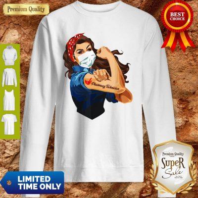 Rosie The Riveter Pharmacy Technician Woman Nurse Sweatshirt