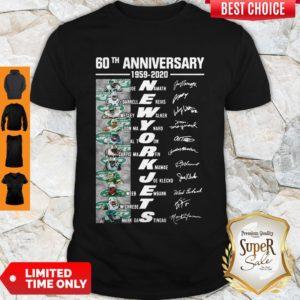 Premium 60th Anniversary 1959 2020 New York Jets Shirt