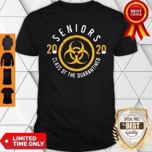 Official Seniors 2020 Class Of The Quarantine Coronavirus Shirt