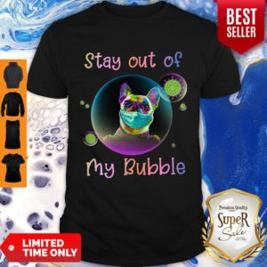 Pretty Stay Out Of My Bubble Pug Dog Shirt