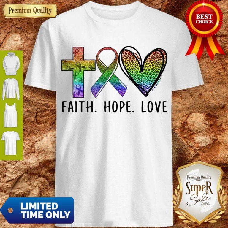 Premium Faith Hope Love Shirt