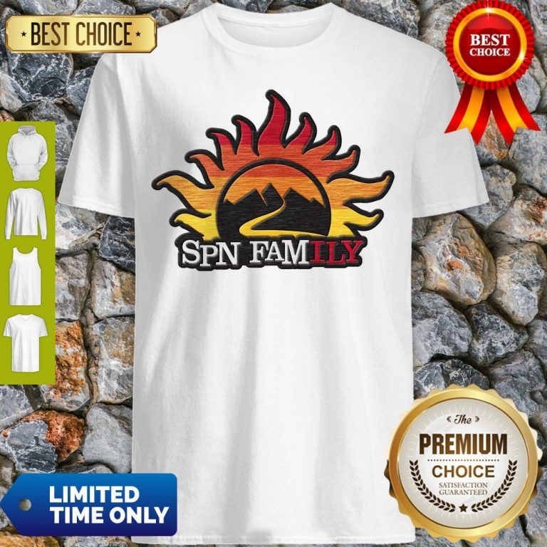 Official Supernatural SPN Family Shirt