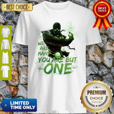 Pro We Are Many You Are But One Shirt