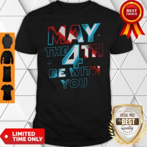 Official Star Wars May The 4th Be With You Shirt