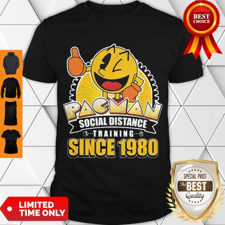 Cute Pacman Social Distance Training Since 1980 Classic Shirt