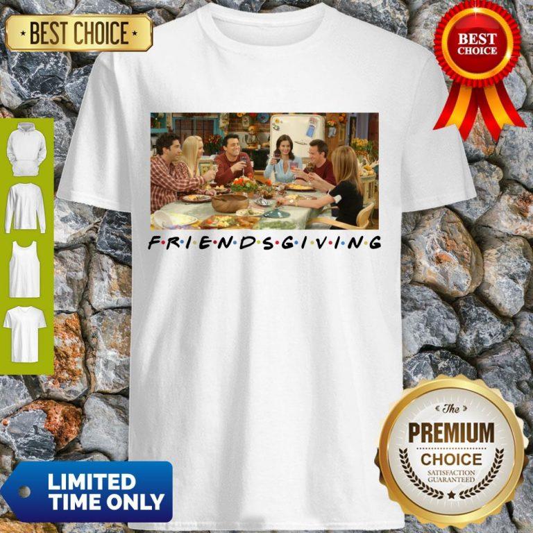 Pretty Friends Giving Friends TV Show Thanks Giving 2020 T-Shirt
