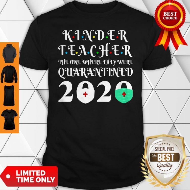 Nice Seniors 2020 Kinder Teacher The One Where They Were Quarantine 2020 Graduation Tote Shirt