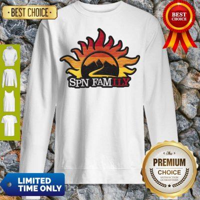 Official Supernatural SPN Family Sweatshirt