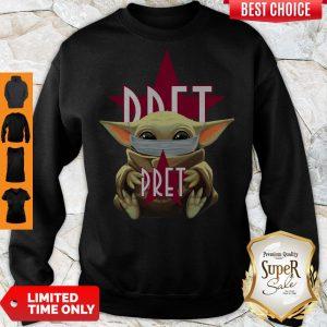 Premium Baby Yoda Hug Pret Sweatshirt