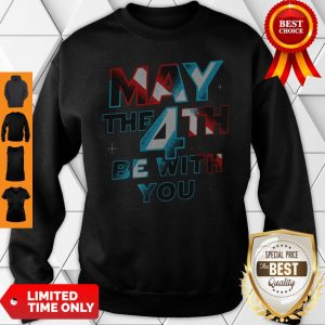 Official Star Wars May The 4th Be With You Sweatshirt