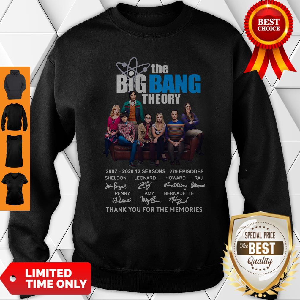 Pretty The Big Bang Theory Thank You For The Memories Sweatshirt