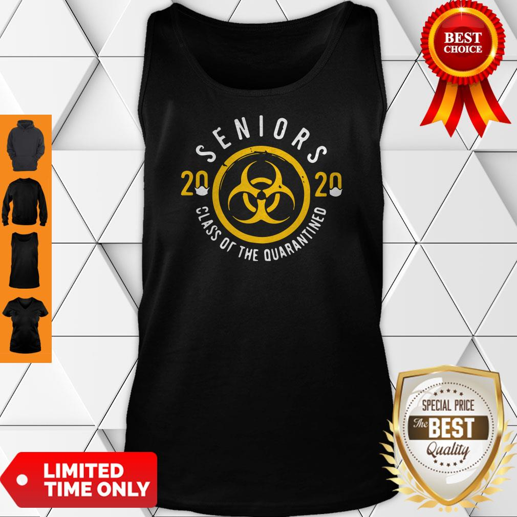 Official Seniors 2020 Class Of The Quarantine Coronavirus Tank Top
