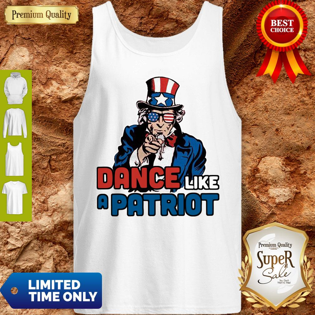 Official Dance Like A Patriot Tank Top