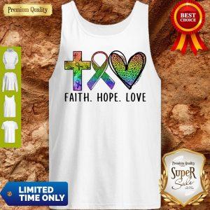 Premium Faith Hope Love Tank Top