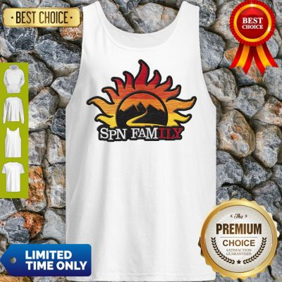 Official Supernatural SPN Family Tank Top