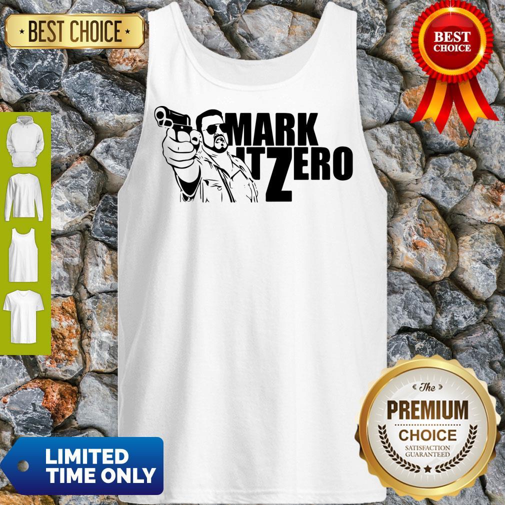 Good The Big Lebowski Mark It Zero Tank Top