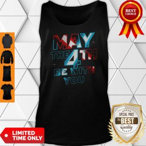 Official Star Wars May The 4th Be With You Tank Top