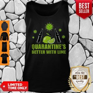 Official Lemonade Quarantine Is Better With Lime Tank Top