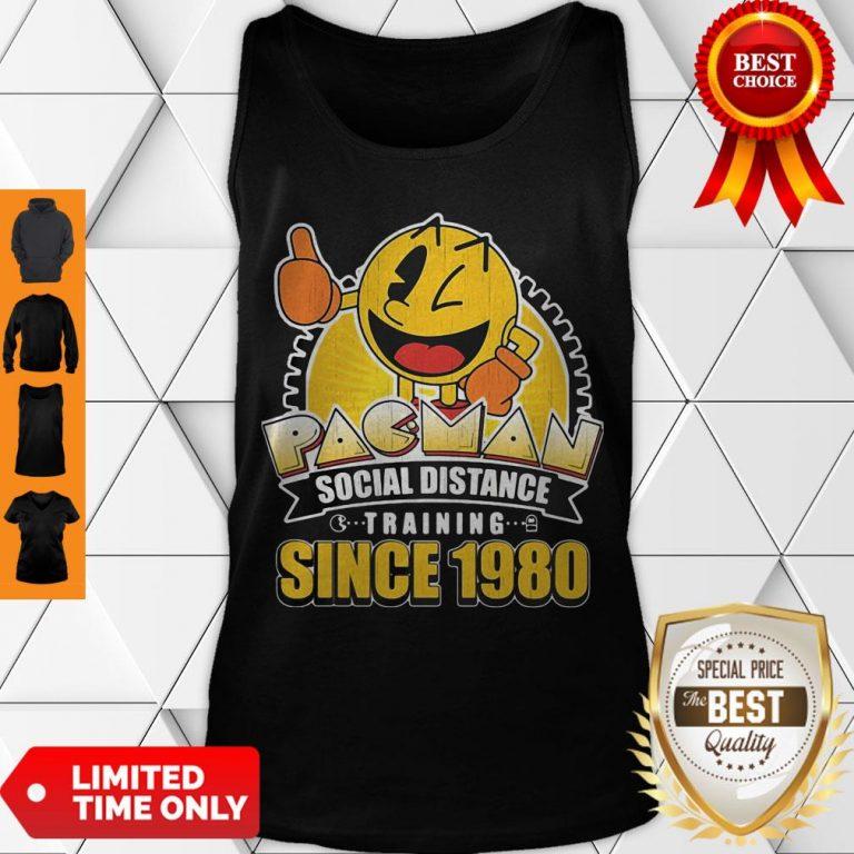 Cute Pacman Social Distance Training Since 1980 Classic Tank Top