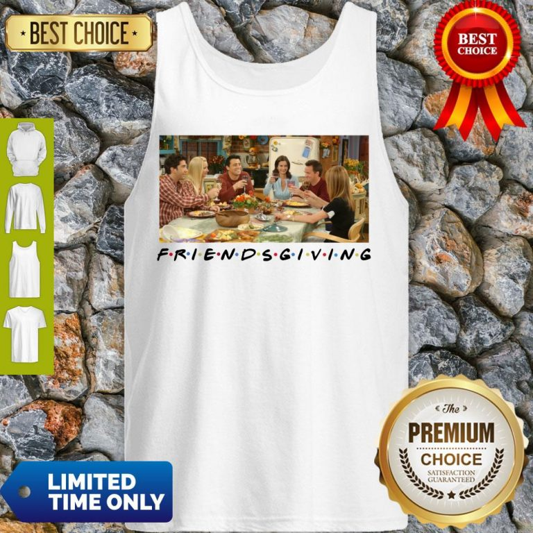 Pretty Friends Giving Friends TV Show Thanks Giving 2020 Tank Top