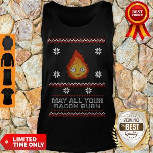 Premium May All Your Bacon Burn Tank Top
