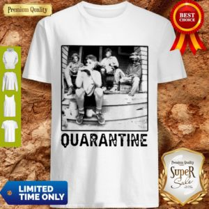The Golden Girl Mashup Minor Threat Quarantine Shirt