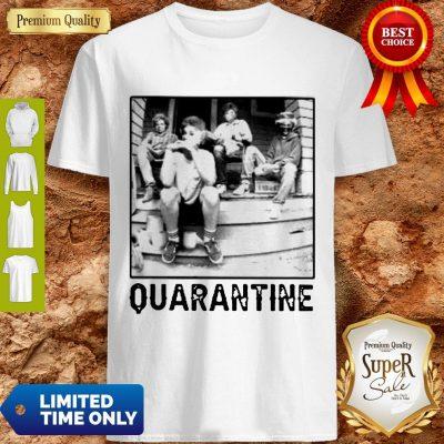 The Golden Girl Mashup Minor Threat Quarantine Shirt